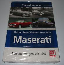 Typenkompass Maserati 3500 4200 5000 GT  Ghibli Merak Gran Turismo Mistral Karif