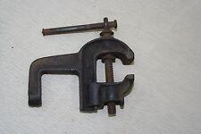 Kleiner alter Uhrmacher, Goldschmied Schraubstock