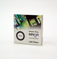 Lee Filters Seven5 43mm Adapter Ring.Brand New.Lee Filters/Made in England