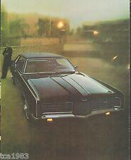 1970 Ford  Big Cars  Brochure / Catalog: GALAXIE,CUSTOM,500,LTD,Brougham,XL,429,