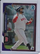 2015 Bowman Chrome Purple Refractor #50 Pablo Sandoval (062/250) Red Sox