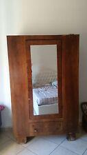 Bellissimo Armadio con Specchio degli anni 40 - 50 in arte Povera