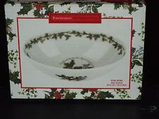 """Portmeirion The Holly & Ivy 8"""" OVAL BOWL  New Boxed"""