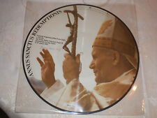 disque religieux annus sanctus redemptionis (pape jean paul 2) lp picture disc