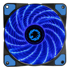 Game Max Storm Force 15 x Blue LED 120mm Fan PC 12cm Case Fan High Performance