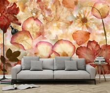 Dried Flowers Wallpaper Wall Mural 3.66m x 2.54m non-woven bedroom & living room