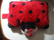 "18"" x 13"" plush Ladybug by Pillow Pets, good condition"