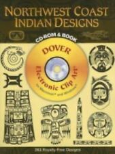 Northwest Coast Indian Designs (Dover Electronic Clip Art) (CD-ROM and Book) by