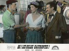 LOUIS DE FUNES COLETTE BROSSET AH ! LES BELLES BACCHANTES 1954 PHOTO ORIGINAL #2