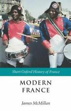 Modern France: 1880-2002 (Short Oxford History of France)-ExLibrary