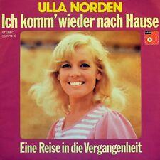 """7"""" ULLA NORDEN Ich komm wieder nach Hause / Reise in die Vergangenheit BASF 1972"""