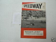 SPEEDWAY MAG 1950 NO 7 LAWSON,GILBERT,OLIVER,FEYENOORD TIGERS,LEEUWEN,MILLER ANN