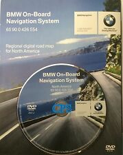2006 BMW E46 325Ci 325Cic 330Ci 330Cic M3 Navigation DVD # 554 Map Edition ©2007