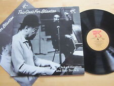 Duke Ellington & Ray Brown - This One's For Blanton LP Pablo Orig. with Booklet