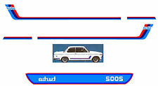 BMW Model 2002 tii Turbo Full Decal Set
