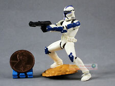 Hasbro Star Wars 1:32 Toy Soldier Figure Republic DC-15 Rifle CLONE TROOPER S181