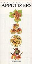 The Book of Appetizers Budgen, June Paperback