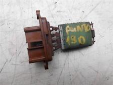 Fiat Punto mk2 1.9 jtd heater resistor