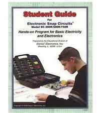 SNAP CIRCUITS Student Guide 753307 for models SC-300, SC-500, SC-750