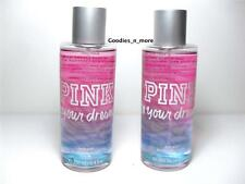2 New Victoria's Secret Pink IN YOUR DREAMS Body Mists *8.4 oz*