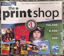The Print Shop PrintShop 23 (PC) BRAND NEW SEALED - NICE - WIN10, 8, 7, XP