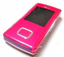LG Chocolate Kg800 Pink Unlocked Triband Camera,Bluetooth,Gsm Slider Cell Phone