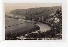 HORSE SHOE BEND ON THE RIBBLE, BALDERSTONE: Lancashire postcard (C9124)