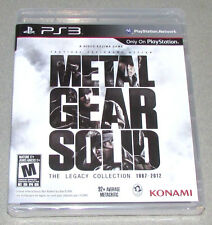 Metal Gear Solid: Legacy Collection - SonyPlaystation 3 New