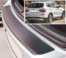 BMW X3 F25 - Effetto Carbonio paraurti posteriore Protettore