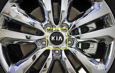 KIA Genuine OEM KIA Logo Wheel Center Caps Hub Cap 4Pcs Set