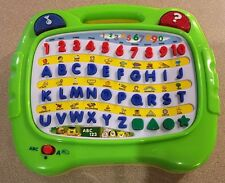 MEGCOS ABC 123 SHAPES ALPHABET BOARD MUSICALINTERACTIVE LEARNING SYSTEM