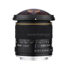 Kelda 8mm f/3.5 170° Ultra Wide Fisheye Aspherical Lens for Canon EOS NEW 97UZ