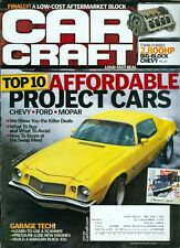 2009 Car Craft Magazine: Affordable Project Cars/Big-Block Chevy/Garage Tech