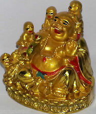 Laughing Buddha With Children/Kids Fulfilling laughing Buddha, Gift for women
