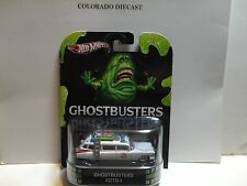 Hot Wheels Retro Entertainment Ghostbusters Ecto-1 Slimer Package