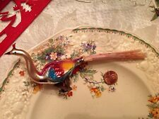 Vintage/Antique Mercury Glass Christmas Bird Ornaments