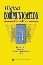 Digital Communication by David G. Messerschmitt, Edward A. Lee and John R....