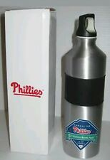PHILLIES NATIONAL LEAGUE CHAMPS 2010 SEASON TICKET METAL WATER DRINK BOTTLE
