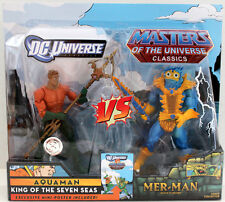 MASTERS OF THE UNIVERSE CLASSIC  MOTU  2 PACK MER-MAN & AQUA FROM HE MAN