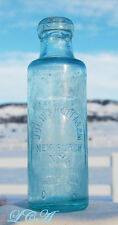 Scarce NEWBURGH NEW YORK blob top THASMO soda or mineral water bottle J HOFFMAN
