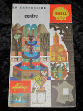 VINTAGE SHELL TOURING MAP, Central France 1967