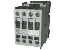 GE CL00A310TS 3 pole 25 AMP contactor with a 240 volt AC coil and 1 NO contact