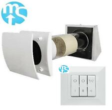"""Elta Mori 150HR (6"""") Single Room Heat Recovery with optional remote switch"""