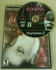 Fatal Frame (Sony PlayStation 2, 2002) *USED*