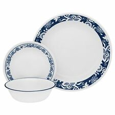 Corelle Livingware 16-Piece Dinnerware Set True Blue Service for 4