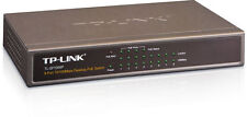 TP-LINK 8-Port Power over Ethernet (PoE) Switch 10/100Mbps Desktop - TL-SF1008P