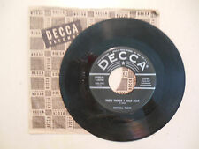 MITCHELL TOROK These Things I Hold Dear / A Date With A Teardrop DECCA  45