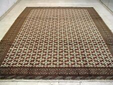 9X11 PERFECT NEVER USED MASTERPIECE 200+KPSI HAND KNOTTED TURKAMON PERSIAN RUG