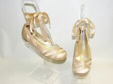 NEW Dune Gold Champagne Ballet Shoes Size 6 39