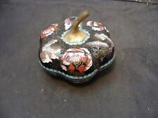 antique Chinese Cloisonne   box gourd shape box